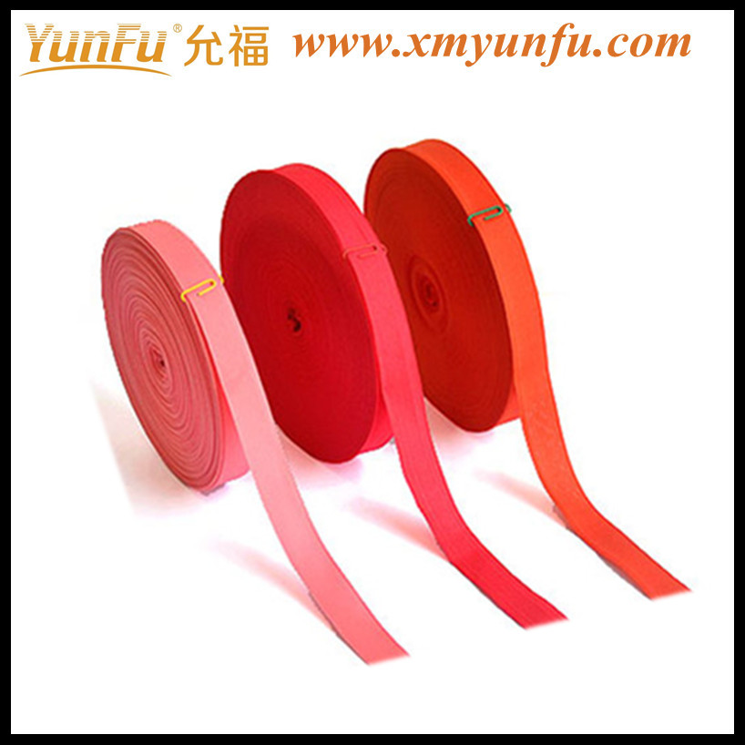 Red high polyester webbing for Clothing accessories