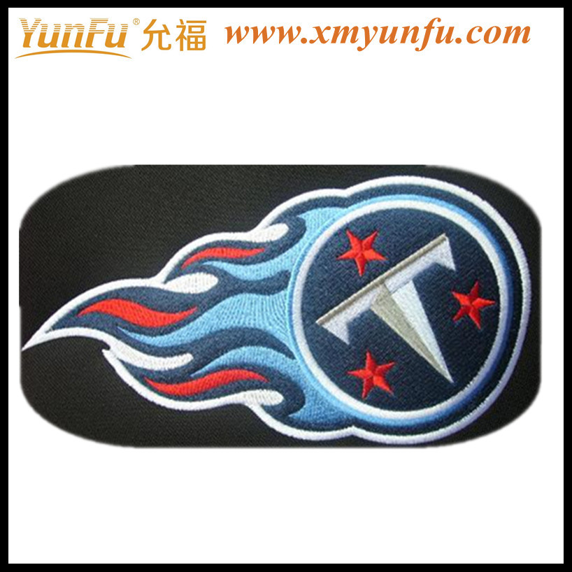 2012 Fashion Embroidered Clothing Patches