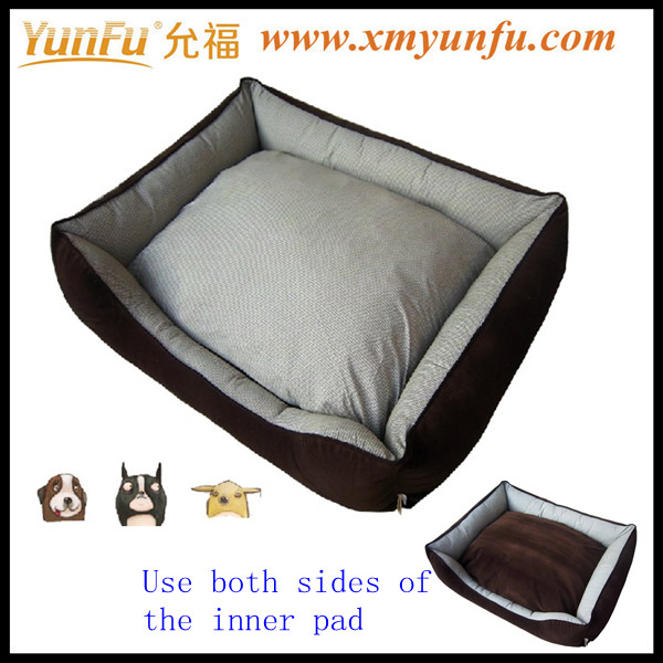 Brown Pet Bed Canopy beds for dogs