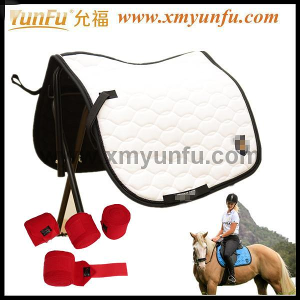 High Quality Quilted Horse Blanket Dressage Saddle Pad