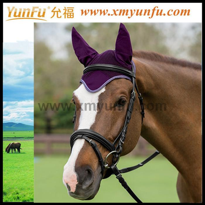 To protect your horse's ears of Ear Fly Bonnet