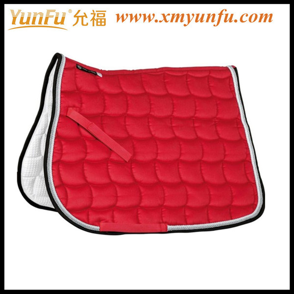 Cotton Horse Red saddle pads
