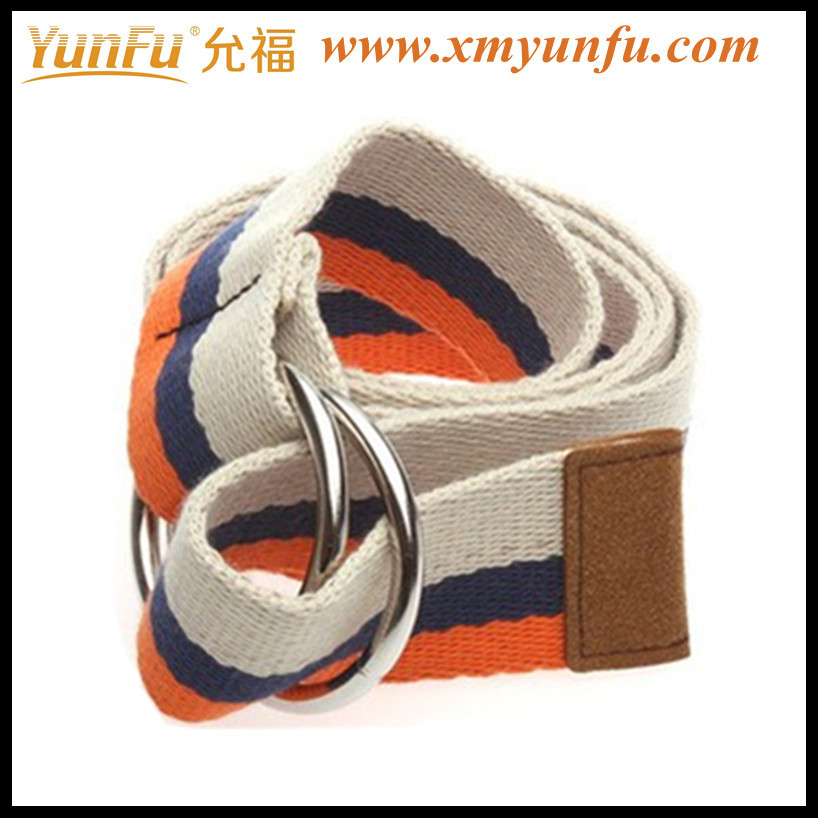 Multicolor Fashion Waist Webbing Belt