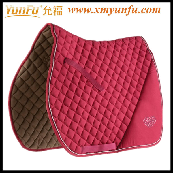 Love Horse English saddle pad