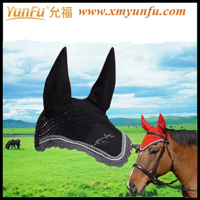 All Colours Strass Horse Grand Prix Ear Net