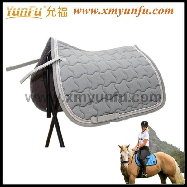 Saddle Blanket Fabric Mattes Quilted Saddle Pad