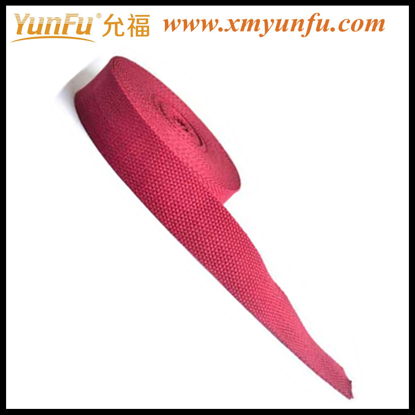 Nice Pink Cotton webbing for bag handle