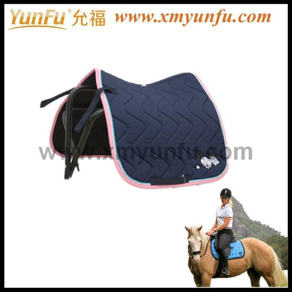 Saddle Blanket Fabric Polycotton Saddle Pad