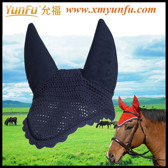 Polycotton Horse Eyes Fly Mask