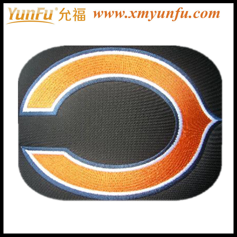 Nice Embroidered Soccer Patches for bag