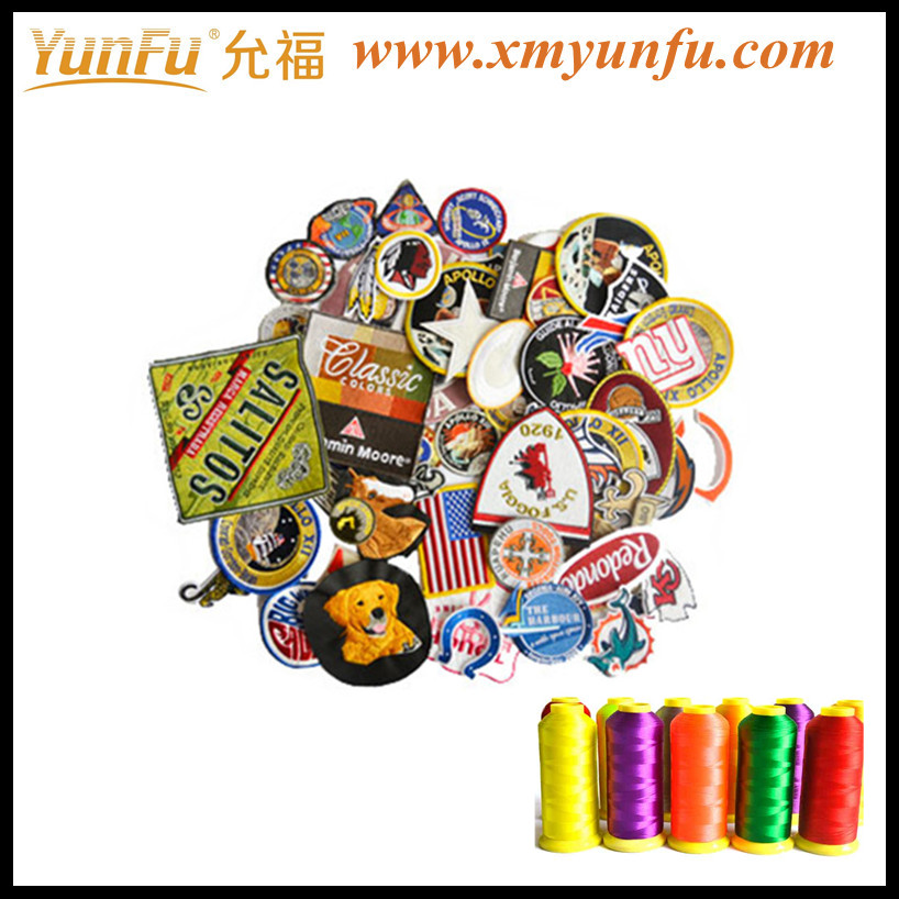 High Quality Embroidery Rectangle Patch
