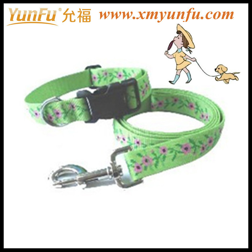 Pet Dog accessories Dog dog collar and dog leash dog belt