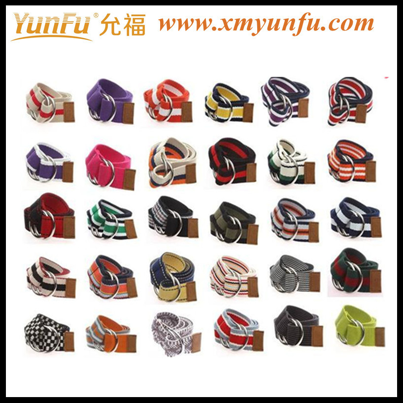 Nice Polyester webbing multicolour for Lady belt