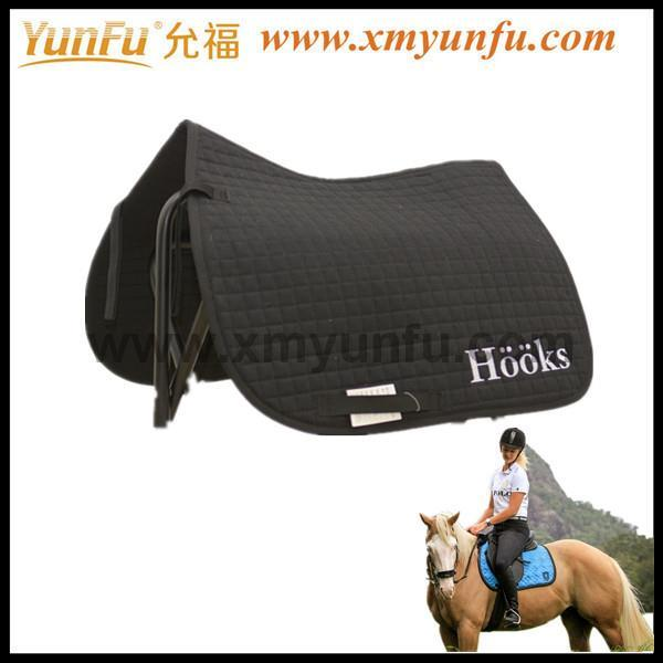 Saddle Blanket Fabric Portable Half Pad for Horse