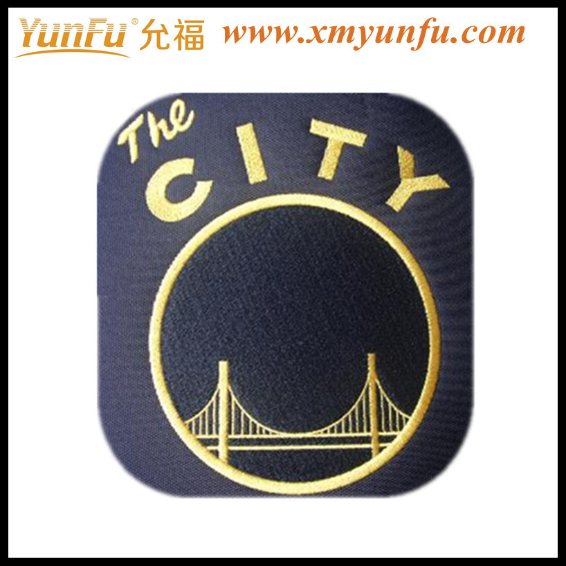 Fashion Football Embroidered patch