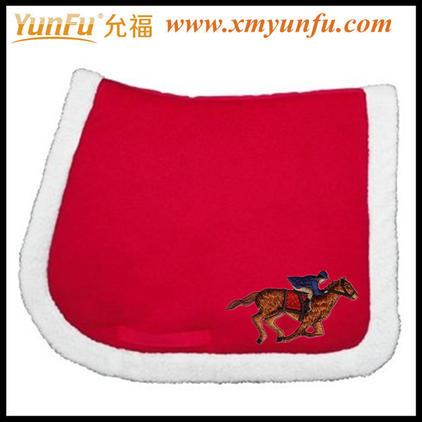 Cute Red Pony western saddle pads