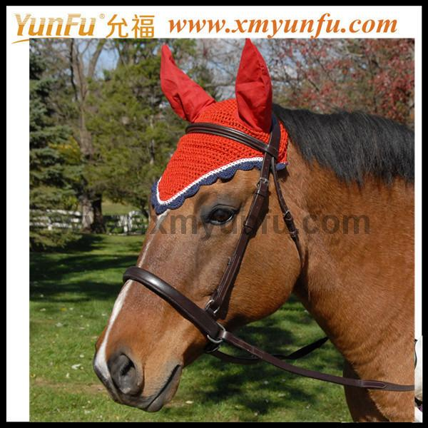 Customization with Cords and Braid Horse Coach Fly Bonnet