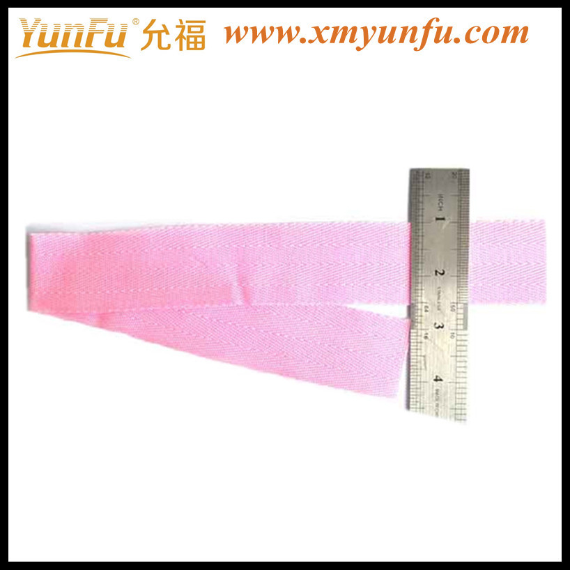 "Factory Price 1 1/2"" Pink wholesale polyester cord strapping"