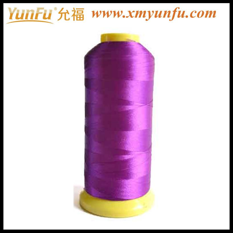Stitch surface fine appearance cheap embroidery thread