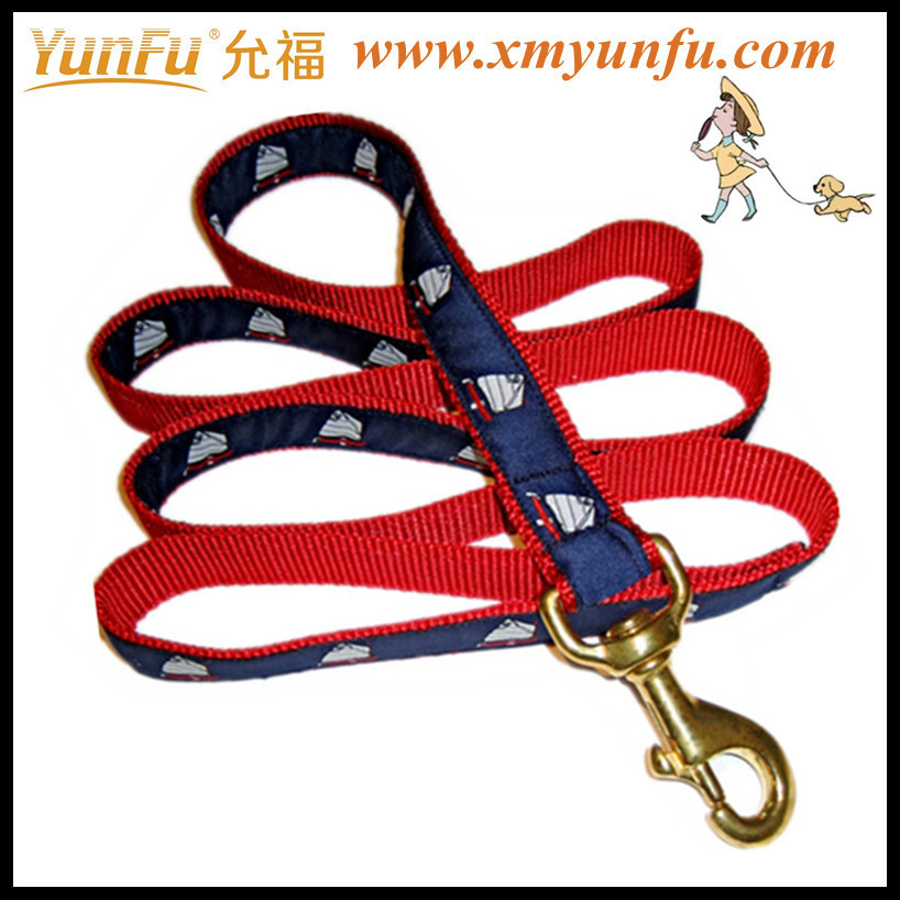 Fashionable soft handle dog leash making supplies