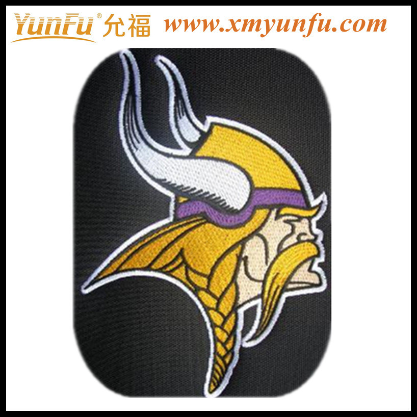 Equisite bag embroidery patch badge embroidery designs