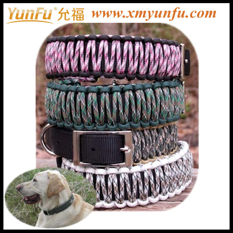 Wholesale Multicolor Nylon personalized diy pet dog collars