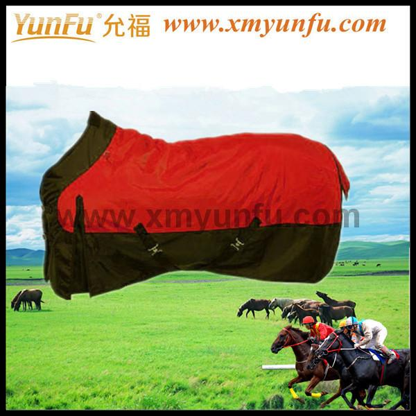 1200D Waterproof Red Turnout Blanket