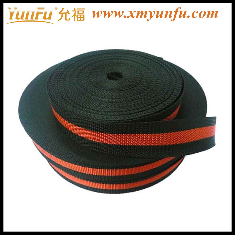 Wholesale Colorful Red & Black 1 inch polyester webbing Strap