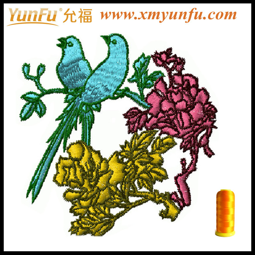 Artistic Value Jumbo size Flower Bird Embroidered
