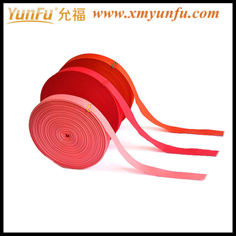 Factory Price Red jacquard polyester webbing