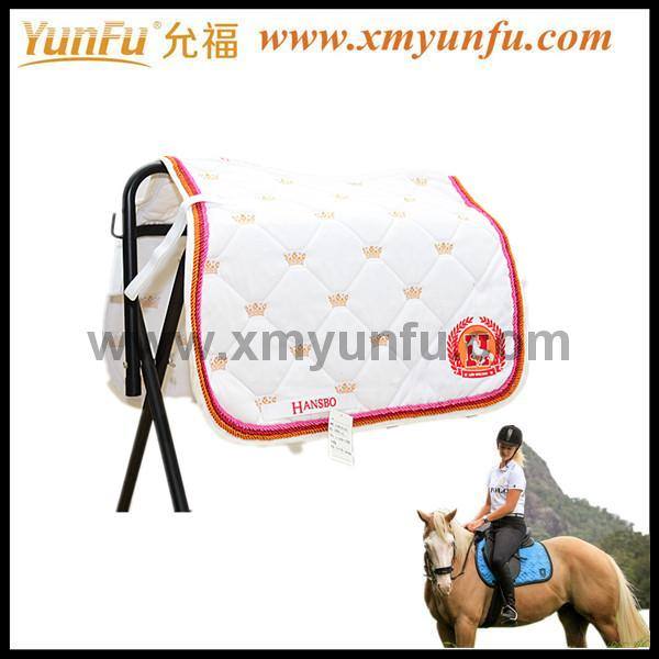 Horse Equestrian Knight Mattes Quilted Saddle Pad