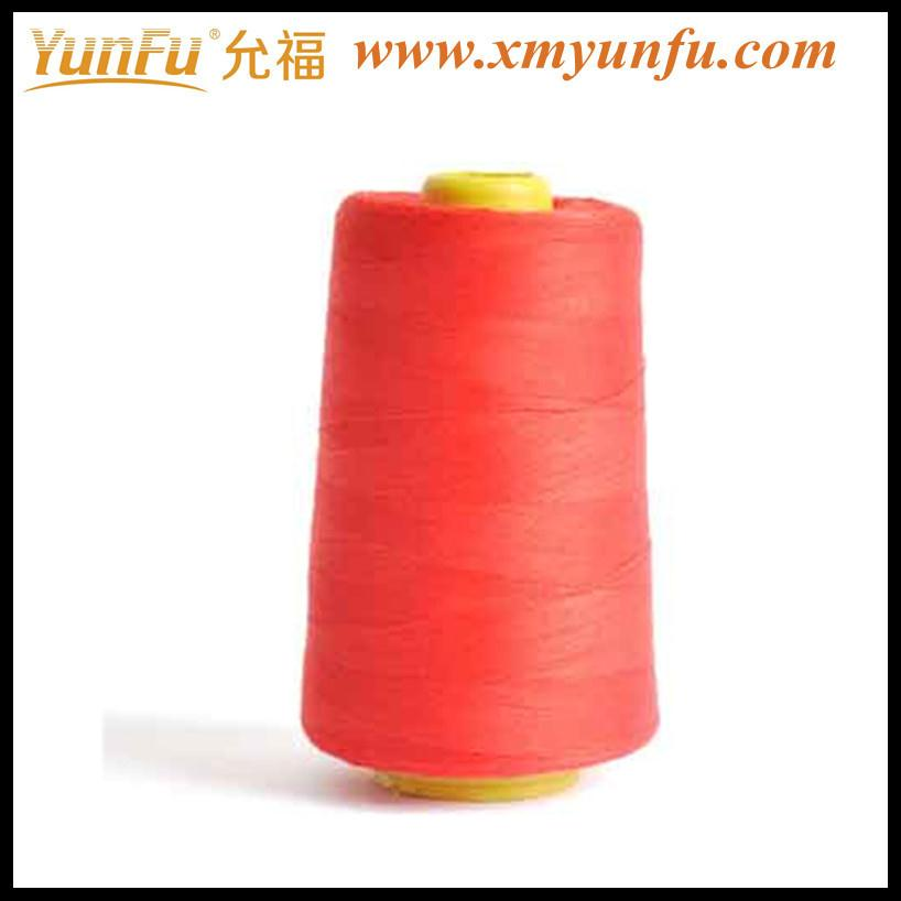The clothes sewing with 40/2 spun polyester sewing thread