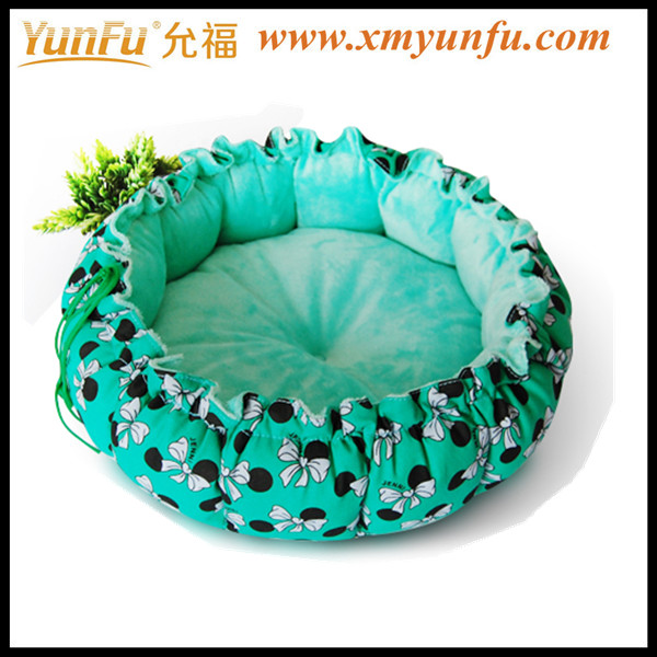High Quality Pet Bed Wholesale Comfortable Round Cute Dog Bed