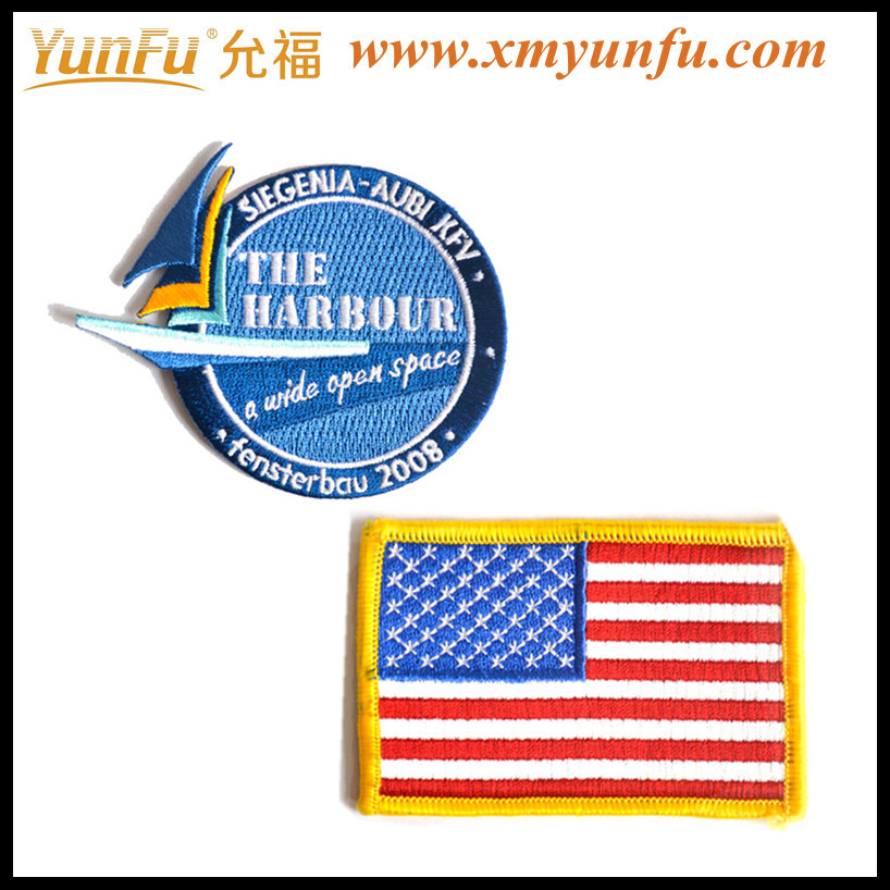USA Flag for Bullion Wire Embroidery Badges