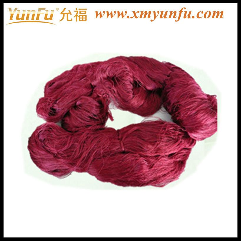 Red 100% polyester spun sewing thread