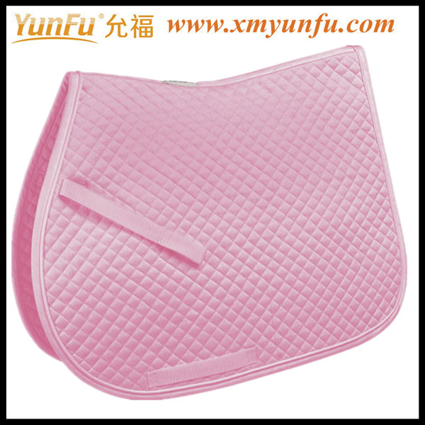 Customized cute Pink horse pads