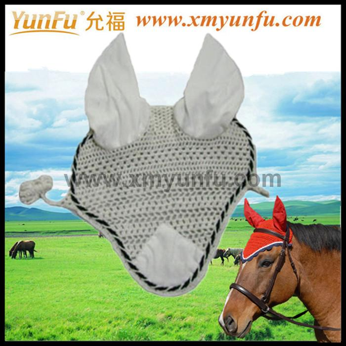 Customization with Cords and Braid Horse Eyes Fly Mask