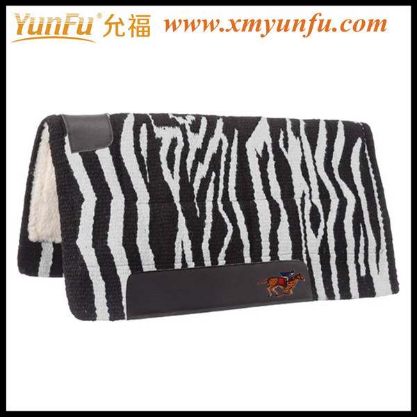 English horses Zebra saddle pad