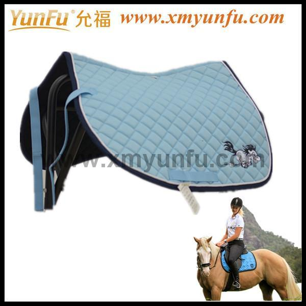 TC Cotton Fabric Perfect Saddles Pad for Horse