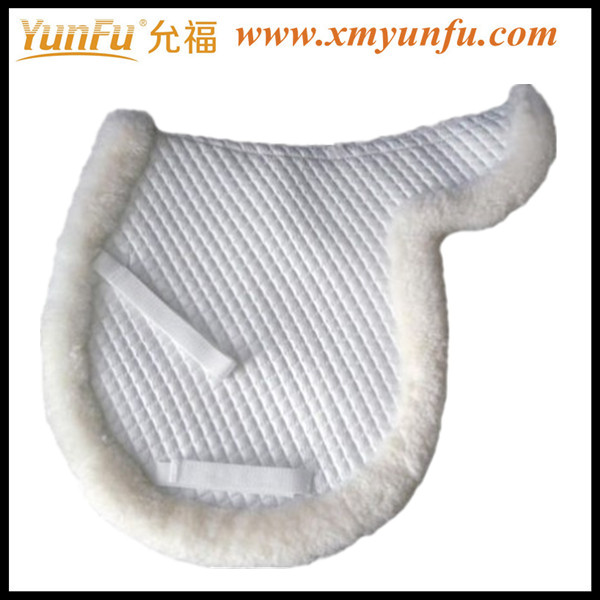 White Horse Wool saddle pad
