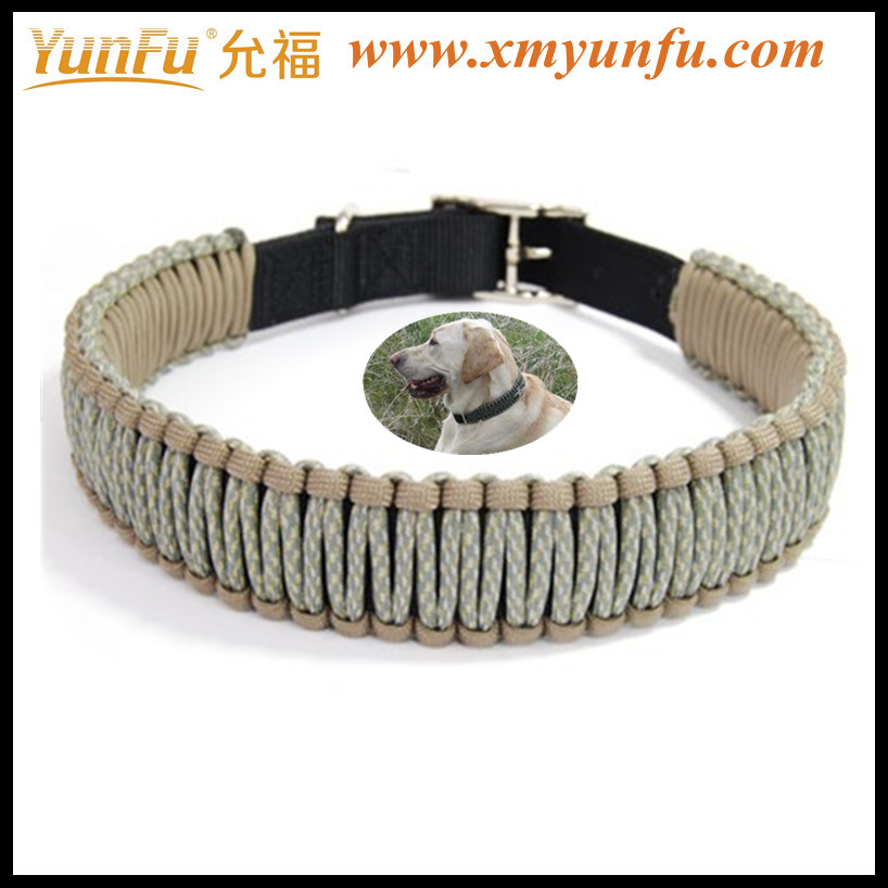 Wholesale Multicolor Metal Buckle Nylon wholesale hunting dog collar
