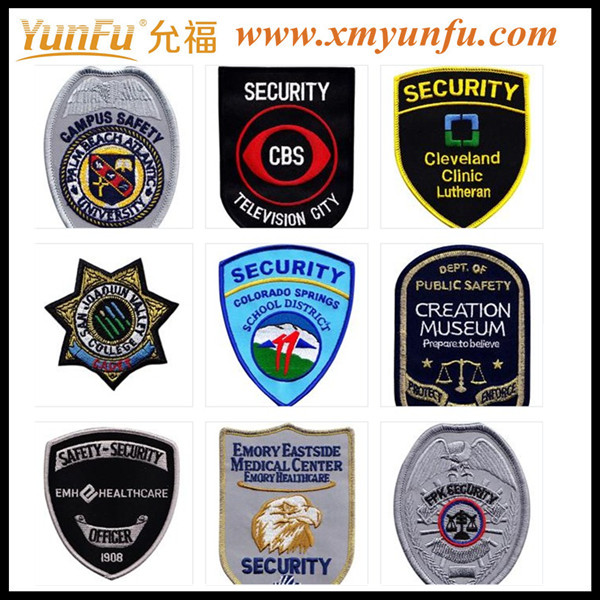Pretty patch embroidered badges