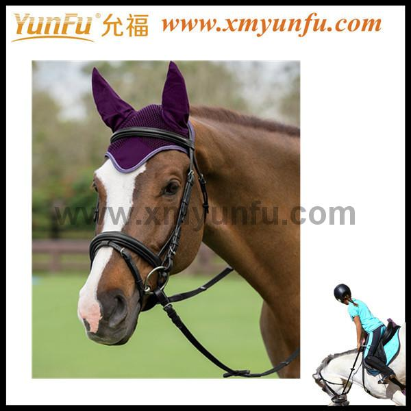 Customization with Rhinestones and cords Horse Coach Fly Bonnet
