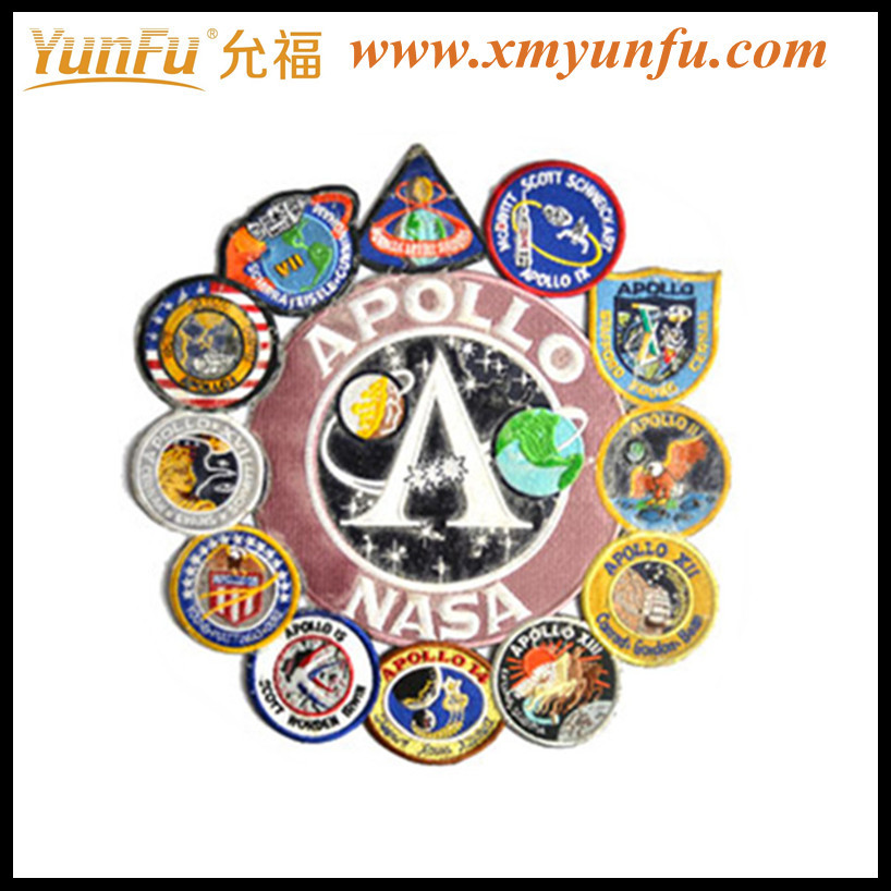 Jumbo size APOLLO Refineness embroidery patch