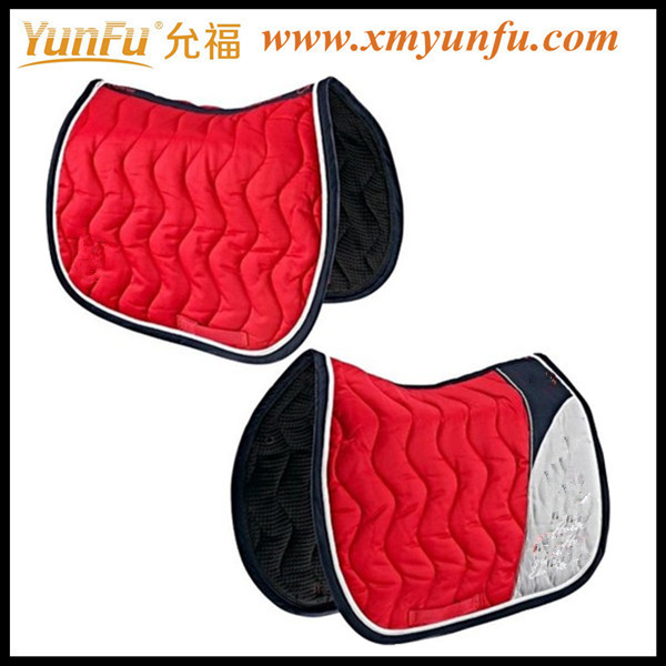 Cotton Red Horse Navajo saddle pad