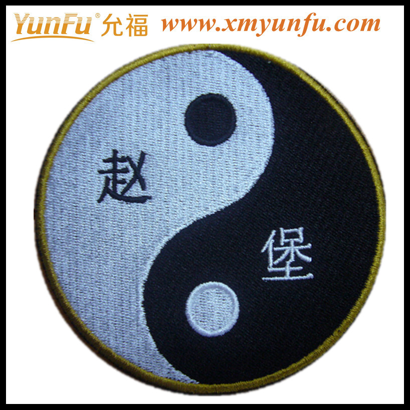 Cheap chinese iron-on backing embroidery kits