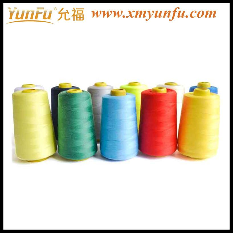 Wholesale Polyester continuous filament sewing thread