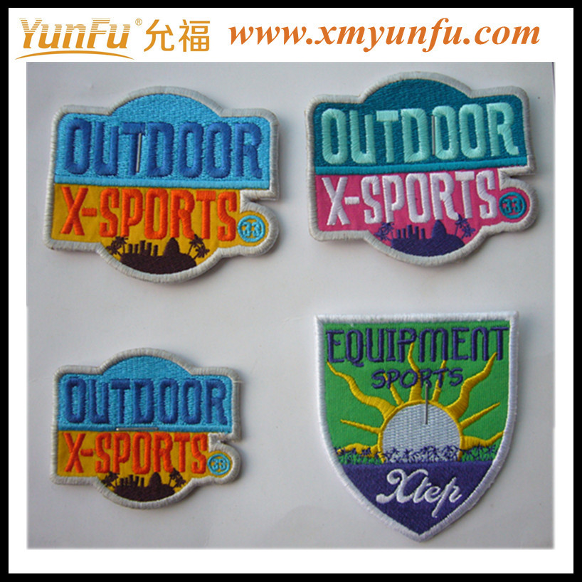 High Quality Embroidered Patches With Sticky Backing