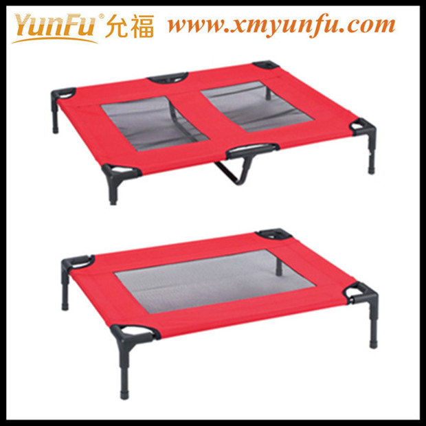 Red Foldable Pet Dog Cot