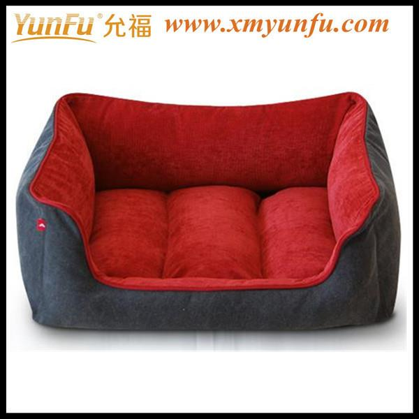 Red Soft Dog Bed for pet